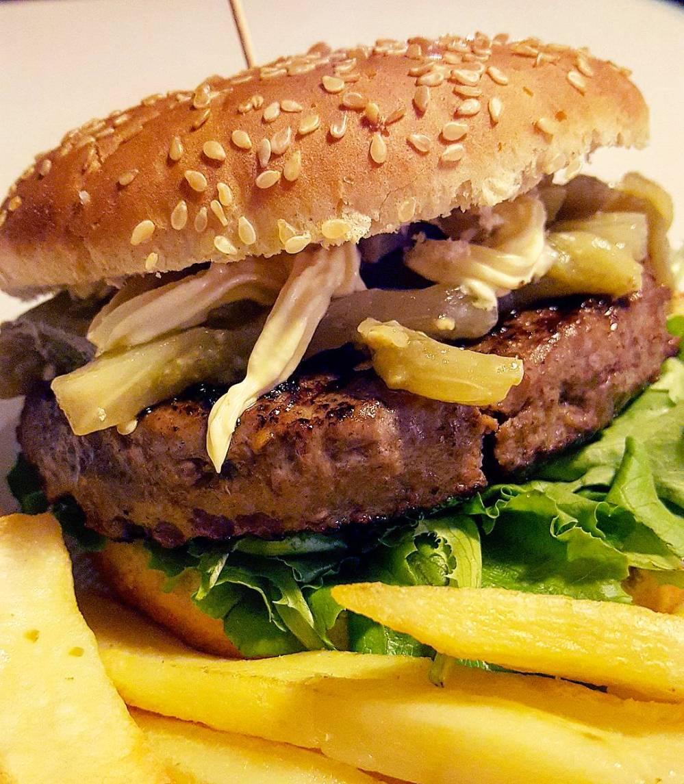 Hamburger Sano ma Buono Style